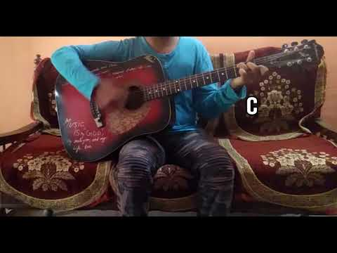 """Chan Kithan""Song of Ayushmann Khurrana/Easy Guitar Chords/Lesson/Tutorial/Guitar Cover/Rochak Kohli"