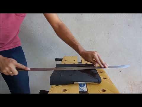 DIY - How to sharpen a Katana