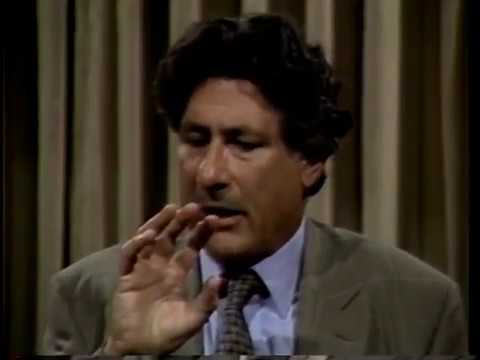 Edward Said on the Gulf War and American Media (1990)