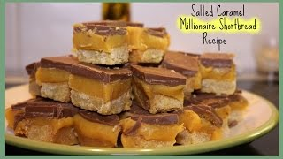 Recipe | Salted Caramel Millionaire Shortbread