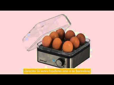 Eierkocher EK 5 Edelstahl Steba Pochiereinstze - YouTube | {Eierkocher 15}