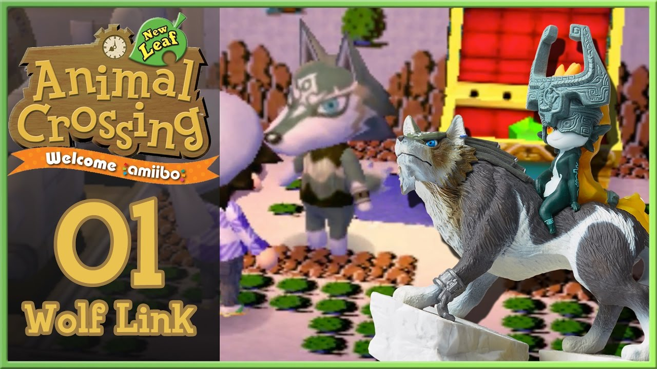 Animal Crossing New Leaf Let's Play - Welcome Amiibo Day 1
