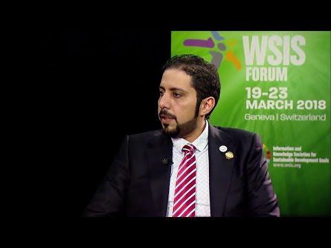 WSIS FORUM 2018 INTERVIEWS: SULTAN AL SHAALI, UAE