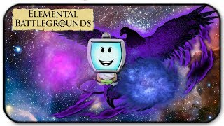 Roblox Elemental Battlegrounds - Phoenix Element And Space Element Gameplay