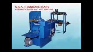 SKA INDUSTRIES - Paper cover making machine