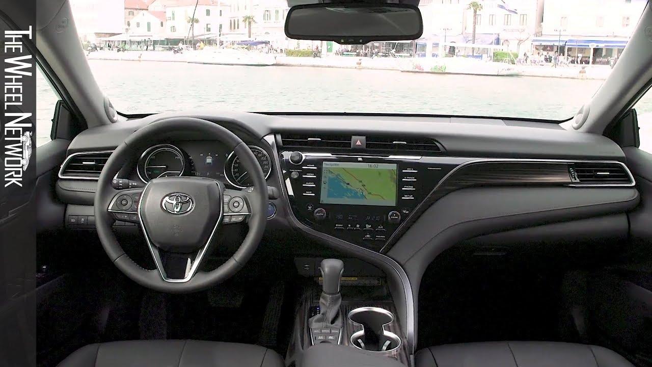 Toyota Camry Interior >> 2019 Toyota Camry Hybrid Interior Eu Spec