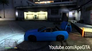 "GTA V Cars ""Cognoscenti Cabrio AKA Bentley Continental GT"""