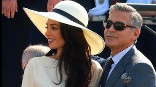 Amal Clooney is Barbara Walters