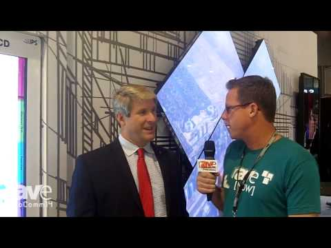 InfoComm 2014: Gary Kayye Talks with LG's Director of Signage Sales Dan Smith About Their Booth