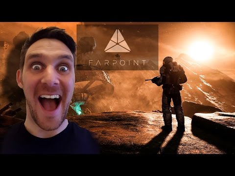 Farpoint Gameplay PSVR With Aim Controller (Part 2)