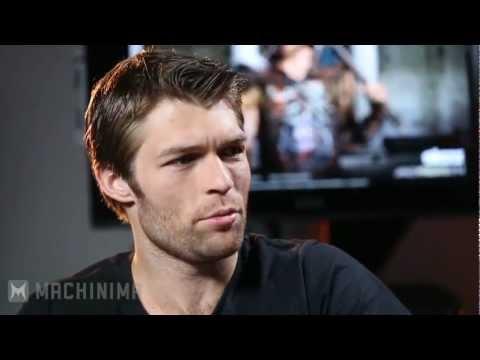 Spartacus Interview Liam McIntyre!.