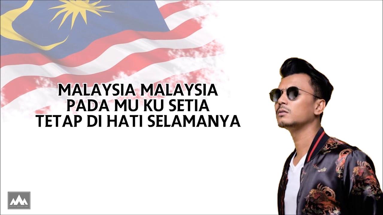 Malaysia Faizal Tahir Lyric Video Youtube