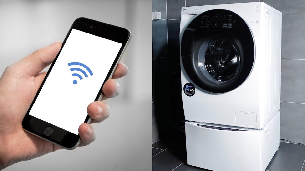 Lg twinwash waschmaschine mit app verbinden anleitung youtube