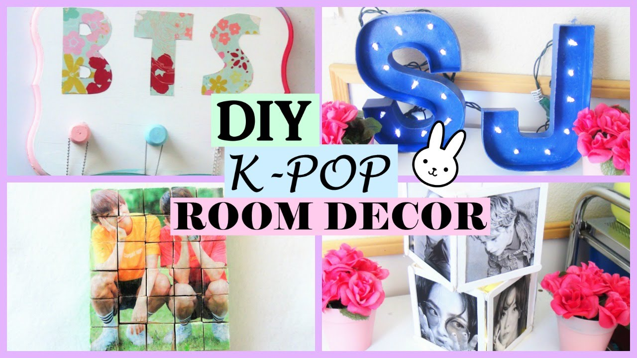 Bedroom Diy Bts Room Decor Novocom Top