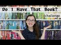 Do I Have That Book? | Challenge