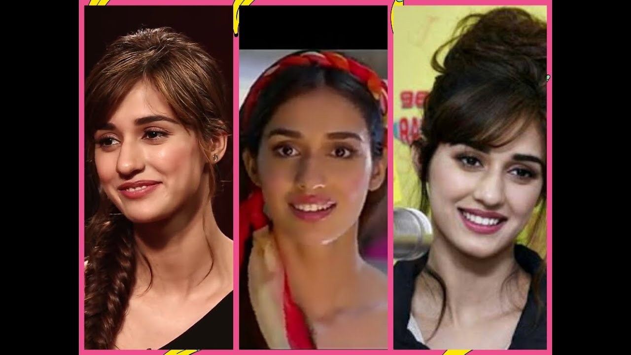 Get The Look Disha Patani From Baaghi 2celebrity Hairstyleseasy