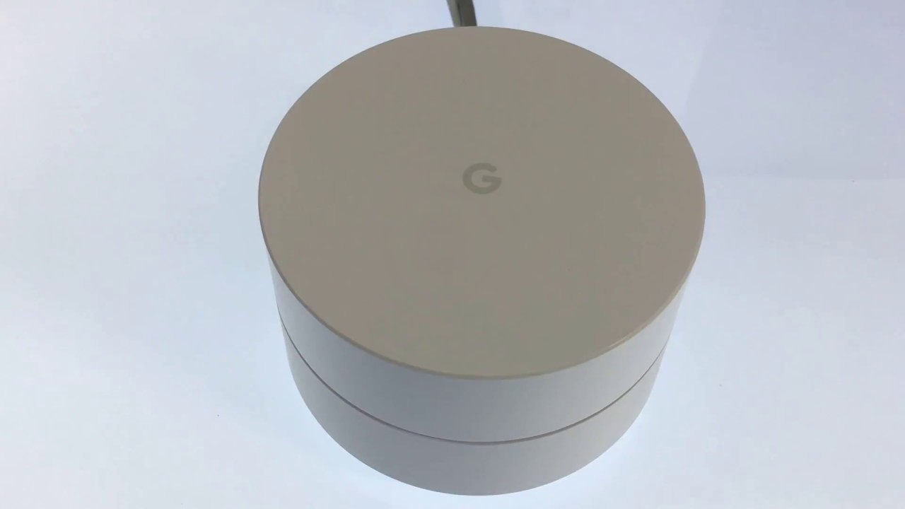 The Advanced Network Settings in Google WiFi