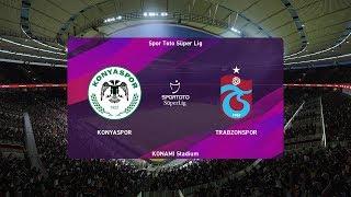 PES 2020   Konyaspor vs Trabzonspor - Turkey Super Lig   23 December 2019   Full Gameplay HD