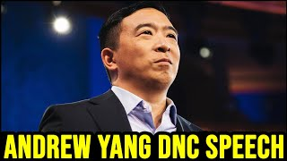 Andrew Yang's Speech at the 2020 Democratic National Convention
