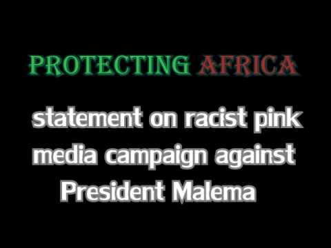 Racist media compaign against Malema