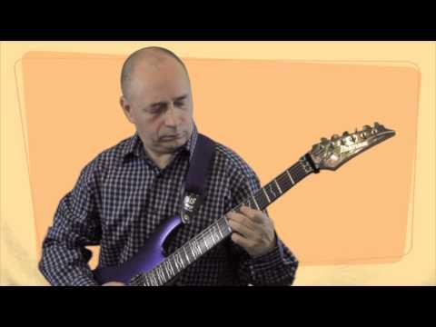 Уроки игры на гитаре - Ам эолийский ( ля минор натуральный ).mov