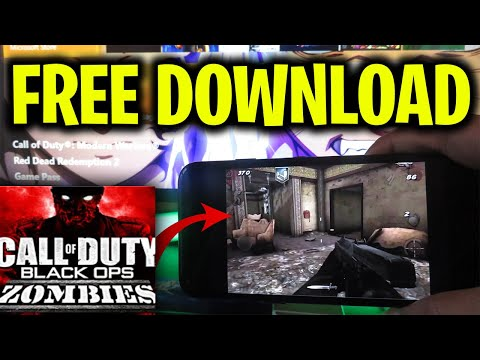 Call Of Duty Black Ops Zombies FREE DOWNLOAD For Mobile IOS & Android - COD BO ZOMBIES MOBILE FREE