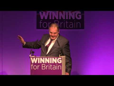 William Dartmouth MEP, International Trade Spokesman, at Bournemouth 2016