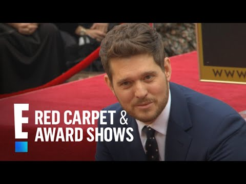 Michael Buble Receives Star on Hollywood Walk of Fame | E! Red Carpet & Award Shows Mp3