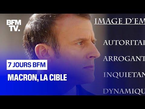 Macron, la cible