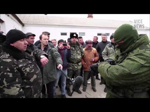 Ukrajina 2014 Živě - Invaze Rusů na Krym (1. díl)