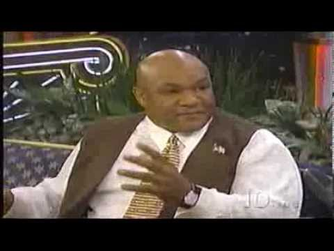 George Foreman on Tonite Show
