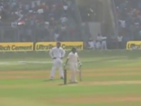 Sachin celebrating his last 50 in his last test match !