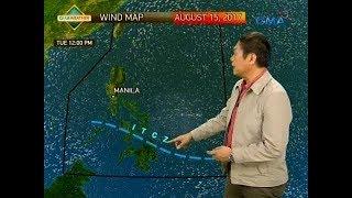 24 Oras: PAGASA: Magpapaulan ang ITCZ sa Palawan, Visayas at Mindanao bukas