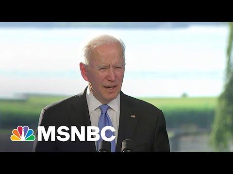 Biden: Russia Actions Diminish Putin's Credibility