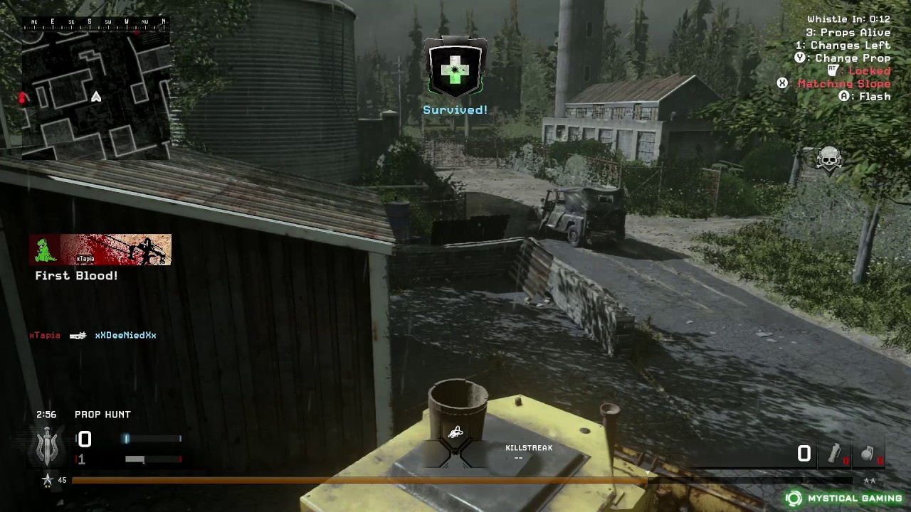 Modern Warfare Remastered - Prop Hunt - Downpour (XBOX ONE)