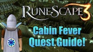 runescape 3 cabin fever quest guide