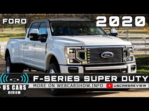 2020 FORD F-SERIES SUPER DUTY Review Release Date Specs Prices