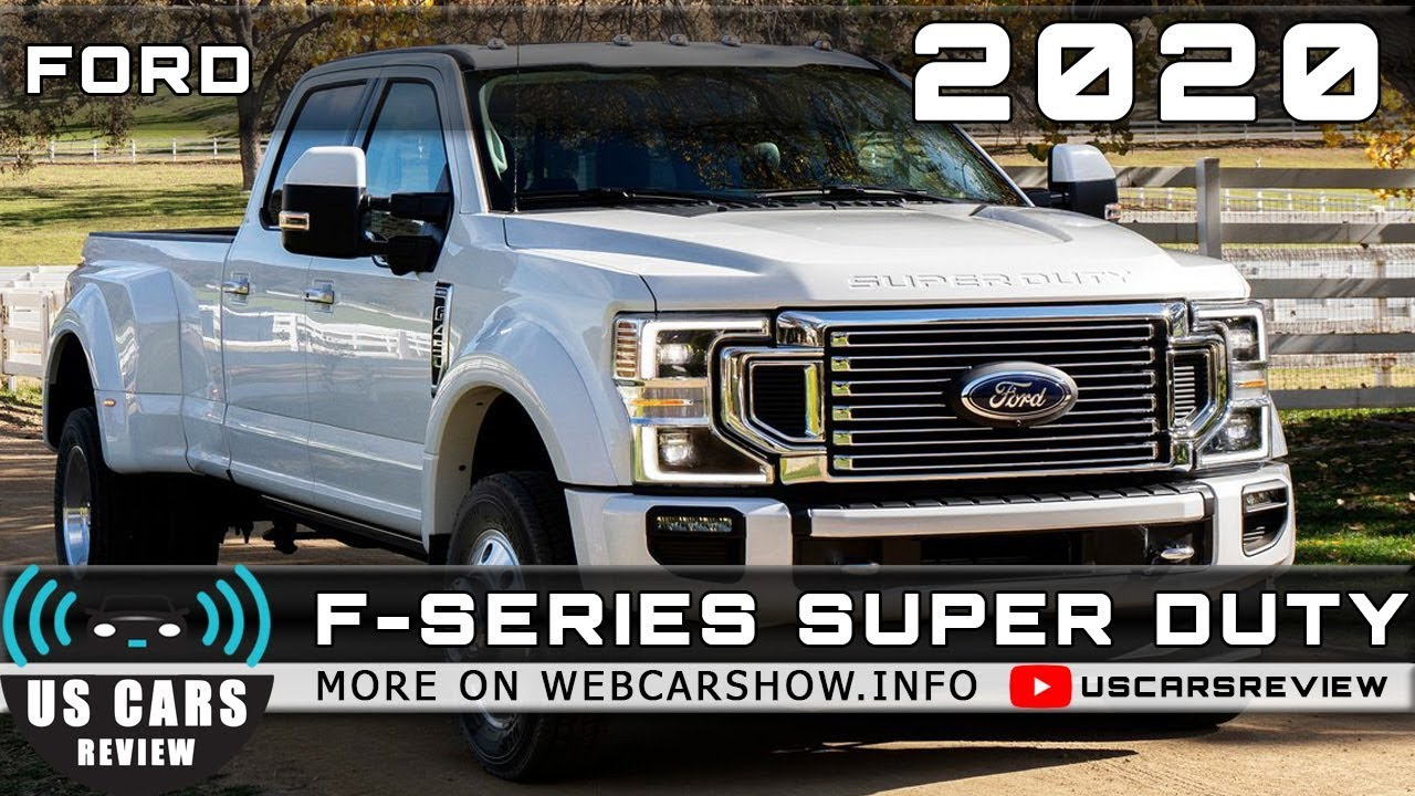 2020 Ford F-150 Super Duty With Diesel Engine, Redesign, Release Date >> 2020 Ford F Series Super Duty Review Release Date Specs Prices