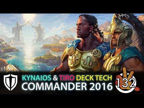 Kynaios and Tiro of Meletis - Stalwart Unity C16 Deck Tech   The Command Zone #132