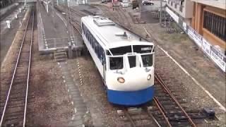 予土新幹線(予土線鉄道ホビートレイン)キハ32系宇和島駅発車 2018.1.7