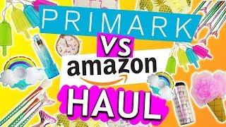 Primark Haul  vs. Amazon Haul | Sommer 2018 CHALLENGE mit Eva & Kathi | Flamingos Lichterkette Deko