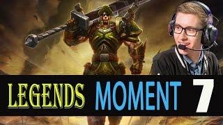 LOL  [ Bjergsen pick Jarvan IV ]  League of legends - Moment 7