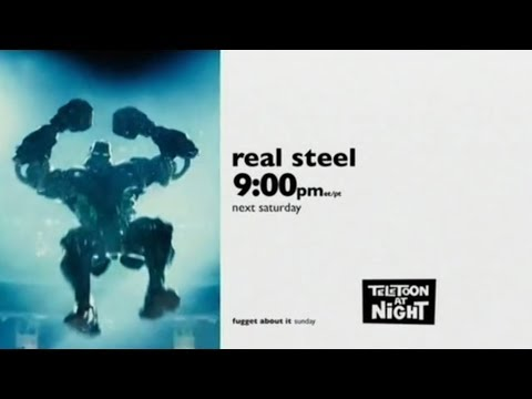 TELETOON AT NiGHT (2018) - Real Steel Promo