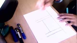 How to draw a Masjid - part 1