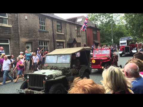 Yanks are back in saddleworth UK