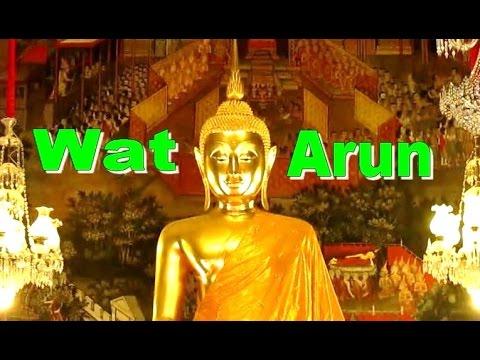 WAT ARUN - Temple of Dawn - Songkran Bangkok Thailand [HD]