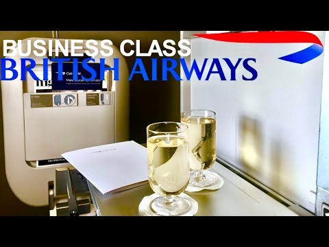 British Airways Business Class London Heathrow to San Francisco 747-400 Club World