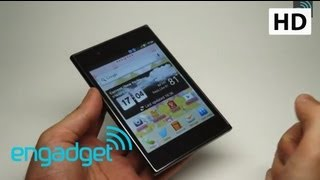 LG Optimus - LG Optimus Vu Review | Engadget