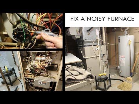 Furnace Making Noise - Fix Blower Motor
