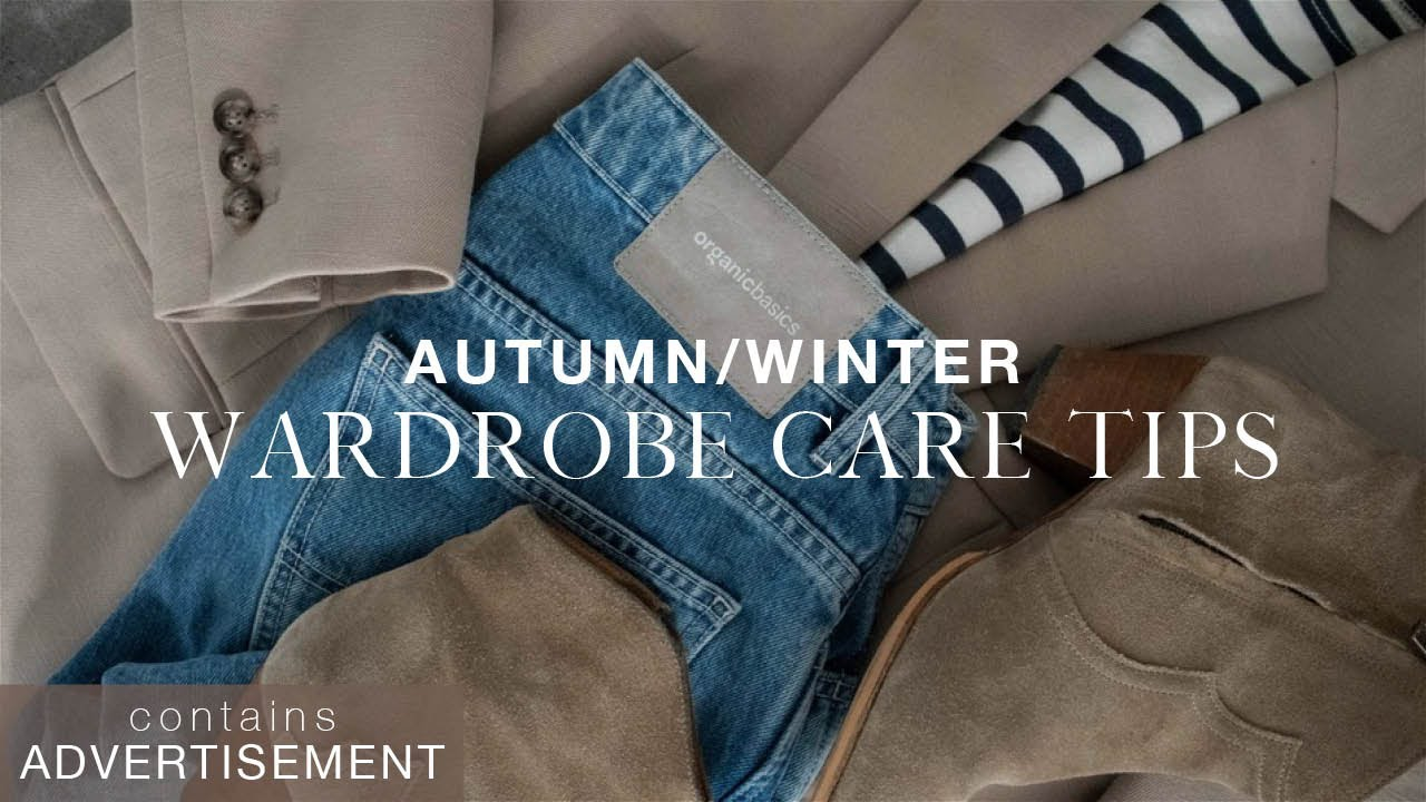 How to make old clothes feel new | Wardrobe care tips for autumn/winter